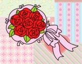 Dibujo Ramo de gardenias pintado por georgina1