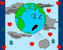 Dibujo Tierra enferma pintado por jammy