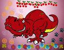 Dibujo Tyrannosaurus Rex pintado por yaelyared
