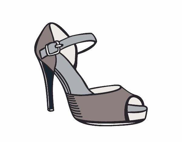 Para Tacon Colorear Animados Zapatos De Qrwo6tf5