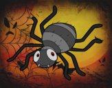 Dibujo Araña infantil pintado por queyla