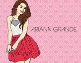 Dibujo Ariana Grande pintado por dianita12
