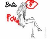Barbie sentada
