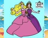 Barbie y su amiga súper felices