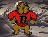 Dibujo Bulldog pintado por karenivan