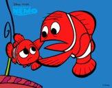 Buscando a Nemo - Nemo y Marlín