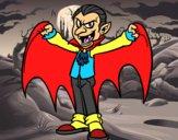 Dibujo Drácula malvado pintado por DEMIAN4