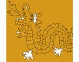 Dragón escupiendo fuego II
