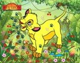 El Rey León - Simba