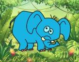 Elefante vergonzoso