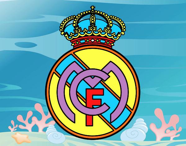 Dibujos Para Colorear Escudo Real Madrid: Escudos Del Real Madrid 2015