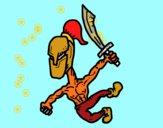 Gladiador fuerte