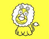 León simpático