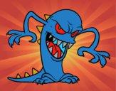 Monstruo malvado