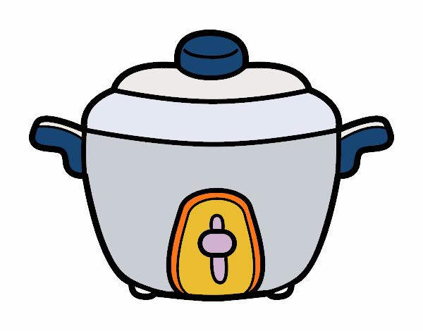 Dibujo de olla express pintado por en el d a for La cocina de dibujos pdf