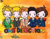 Dibujo One direction pintado por Zets
