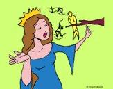 Princesa cantando