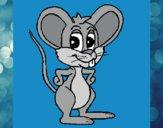 Dibujo Ratón 1 pintado por queyla