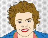 Dibujo Retrato de Harry Styles pintado por valero