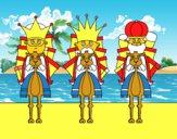 Reyes Magos en camello