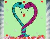 Serpientes enamoradas