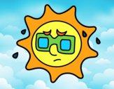 Sol con sudor