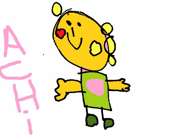 Dibujo de dibujo infantil pintado por en el for Dibujos infantiles pintados
