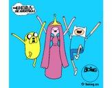Jake, Princesa Chicle y Finn