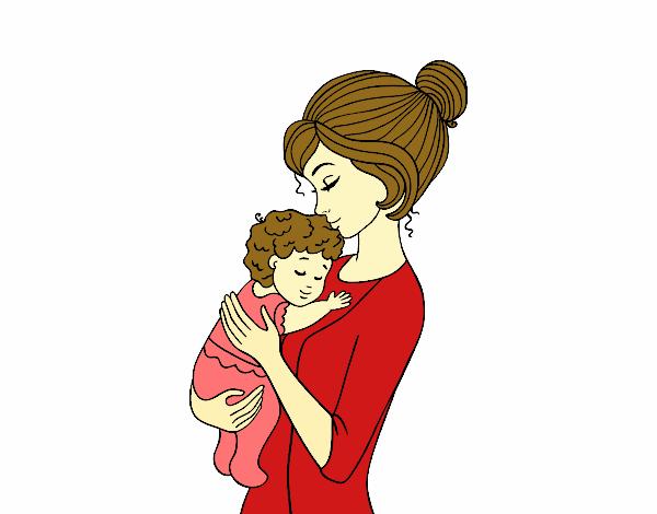 Dibujo de te amo mami pintado por en Dibujosnet el da 280415 a