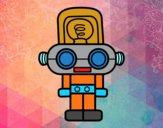 Robot con luz