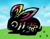 Dibujo Signo del conejo pintado por Nikki-Airi