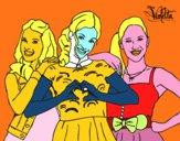 Violetta, Francesca y Camila