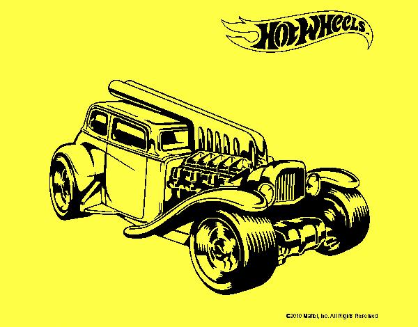 Dibujo de Hot Wheels 6 pintado por en Dibujos.net el día ...