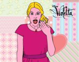 Violetta sorprendida