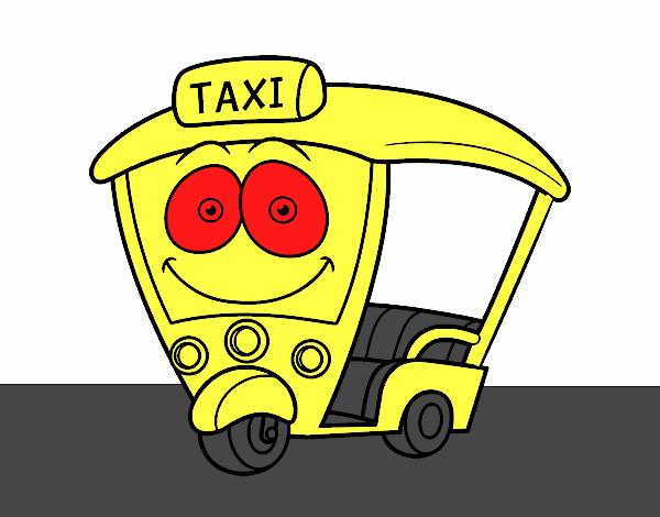 Dibujo de Moto  Taxi pintado por en Dibujosnet el da 170515 a