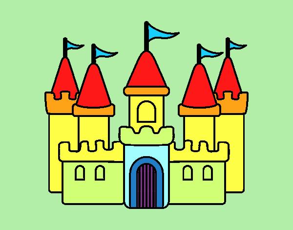 Dibujo de Castillo fantástico pintado por Ojodehorus en ...