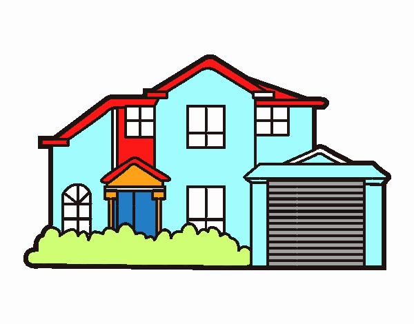 Dibujo de es mi casa pintado por en el d a 20 05 15 a las 00 59 20 imprime pinta o - Imagenes de casas para dibujar ...