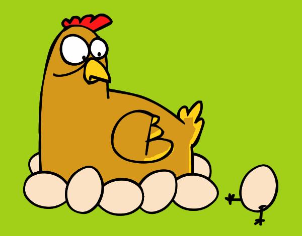 Gallos Coloridos Dibujos Animados: Dibujos De Gallinas Para Colorear