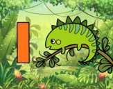 Dibujo I de Iguana pintado por queyla