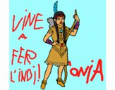 Chica india