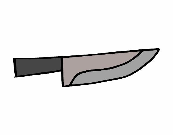 Dibujo de cuchillo cocinero pintado por en el - Dibujos de cocineros para colorear ...