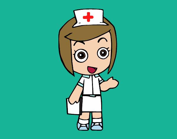dibujos de doctores para colorear - dibujos