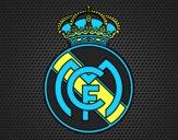 Dibujo Escudo del Real Madrid C.F. pintado por joseja1964