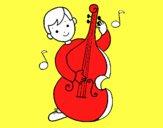 Niño con violonchelo