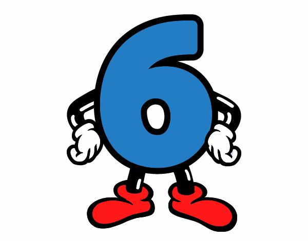 Resultado de imagen de numero 6