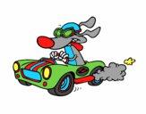 Dibujo Perro de carreras pintado por victor89