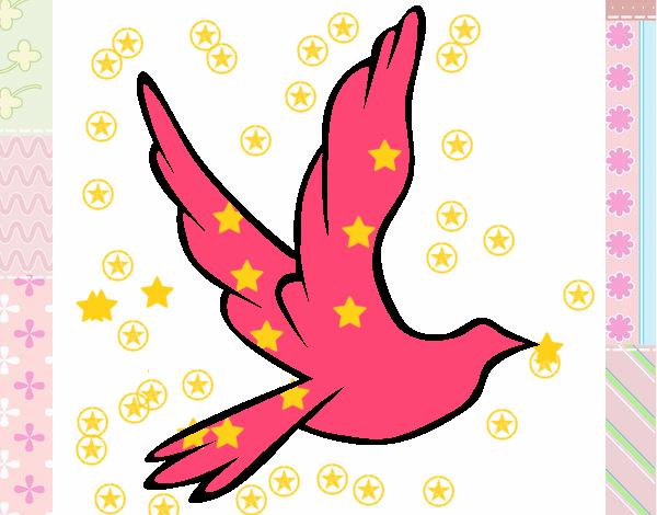 Dibujo De Paloma De Paz Pintado Por En Dibujos.net El Día