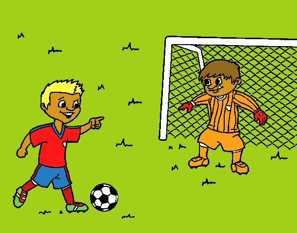 Dibujos De Porteros De Futbol Stunning Futbol Dibujo: Dibujo De Portero De Fútbol Pintado Por En Dibujos.net El