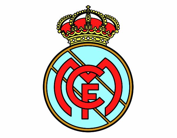 Dibujos Del Real Madrid Para Imprimir Y Colorear: Escudo De Real Madrid Escudos De Futbol Para Imprimir