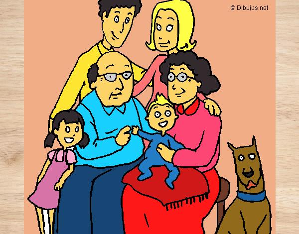 Dibujo de MI FAMILIA MI HERMOSA - 89.0KB